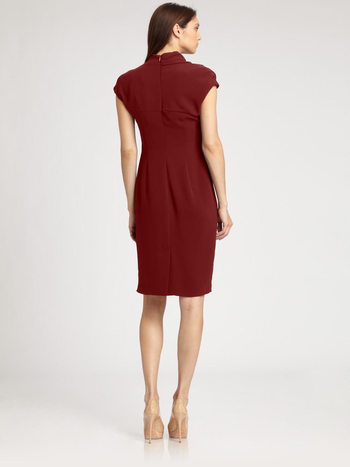 Max Mara Ravenna Dress In Red