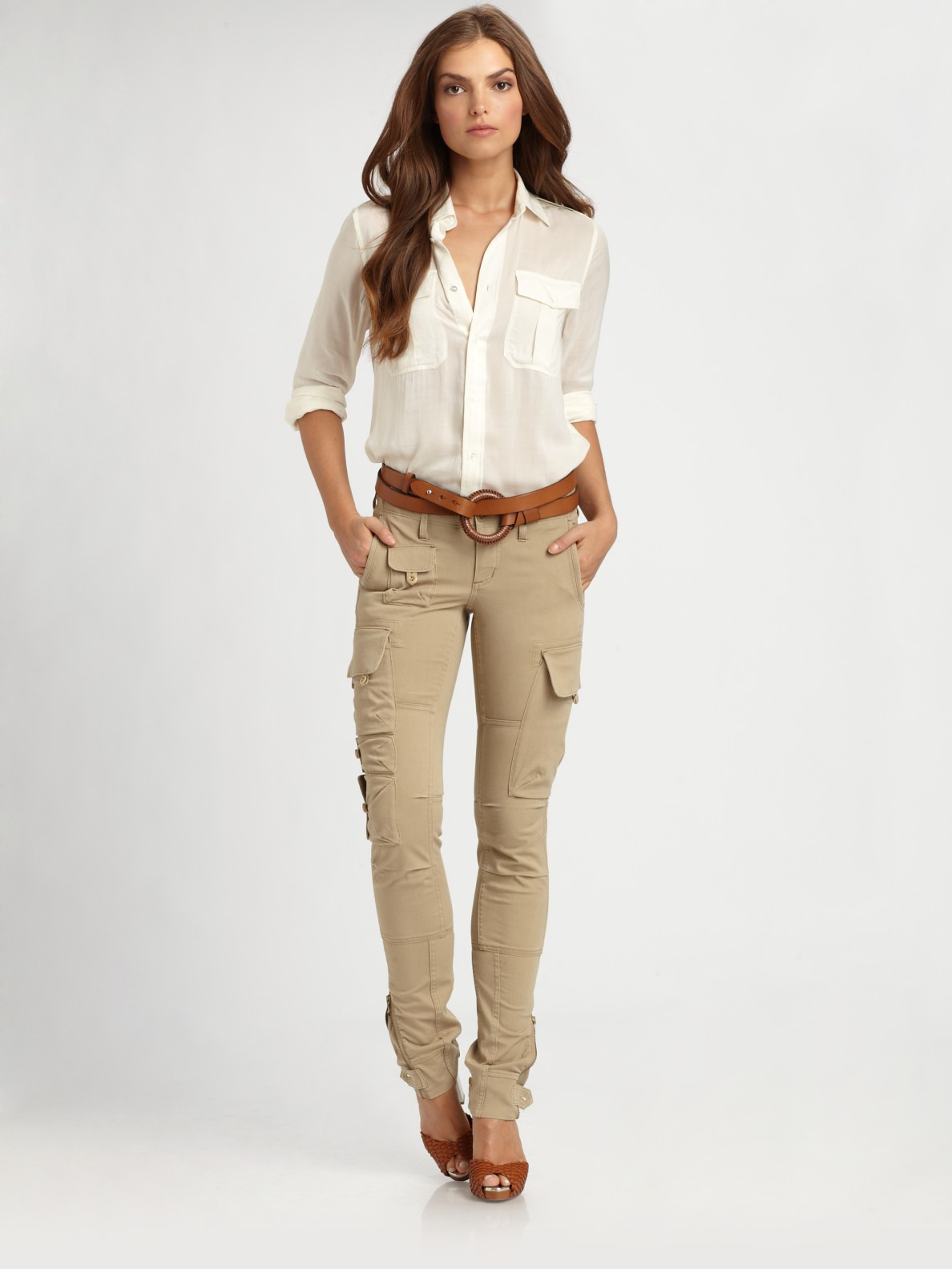 Perfect Skinny Khaki Pants Khaki Skinnies Tan Pants Khakis Denim Pants Uniform