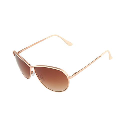 Steve Madden Aviator Sunglasses  steve madden sunglasses in metallic lyst
