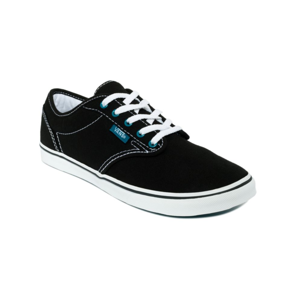 76d725671a8e Lyst - Vans Atwood Low Sneakers in Black
