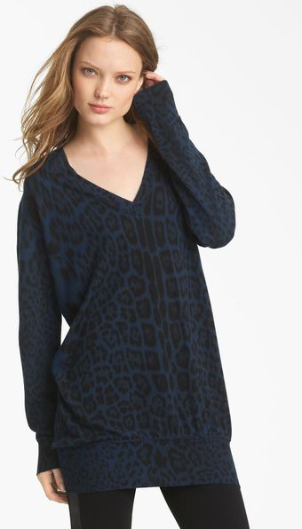 Roberto Cavalli Oversized Knit Sweater - Lyst