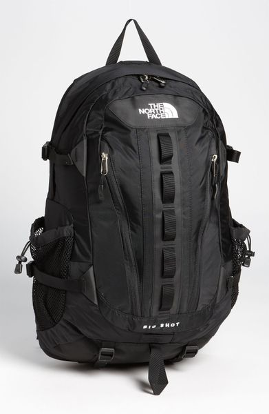 The North Face Big Shot Backpack In Black For Men Tnf