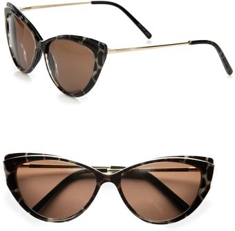 Yves Saint Laurent Petite Plastic Cateye Sunglasses - Lyst