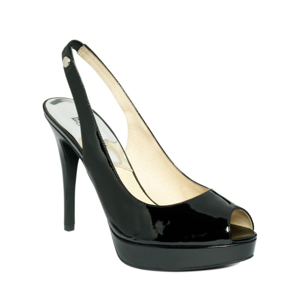 Michael Kors Black Patent Shoes