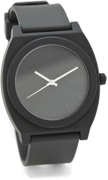 Nixon The Time Teller P Watch in Black