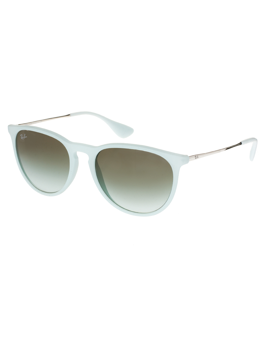 Ray Ban Erika Sunglasses In Green Lyst