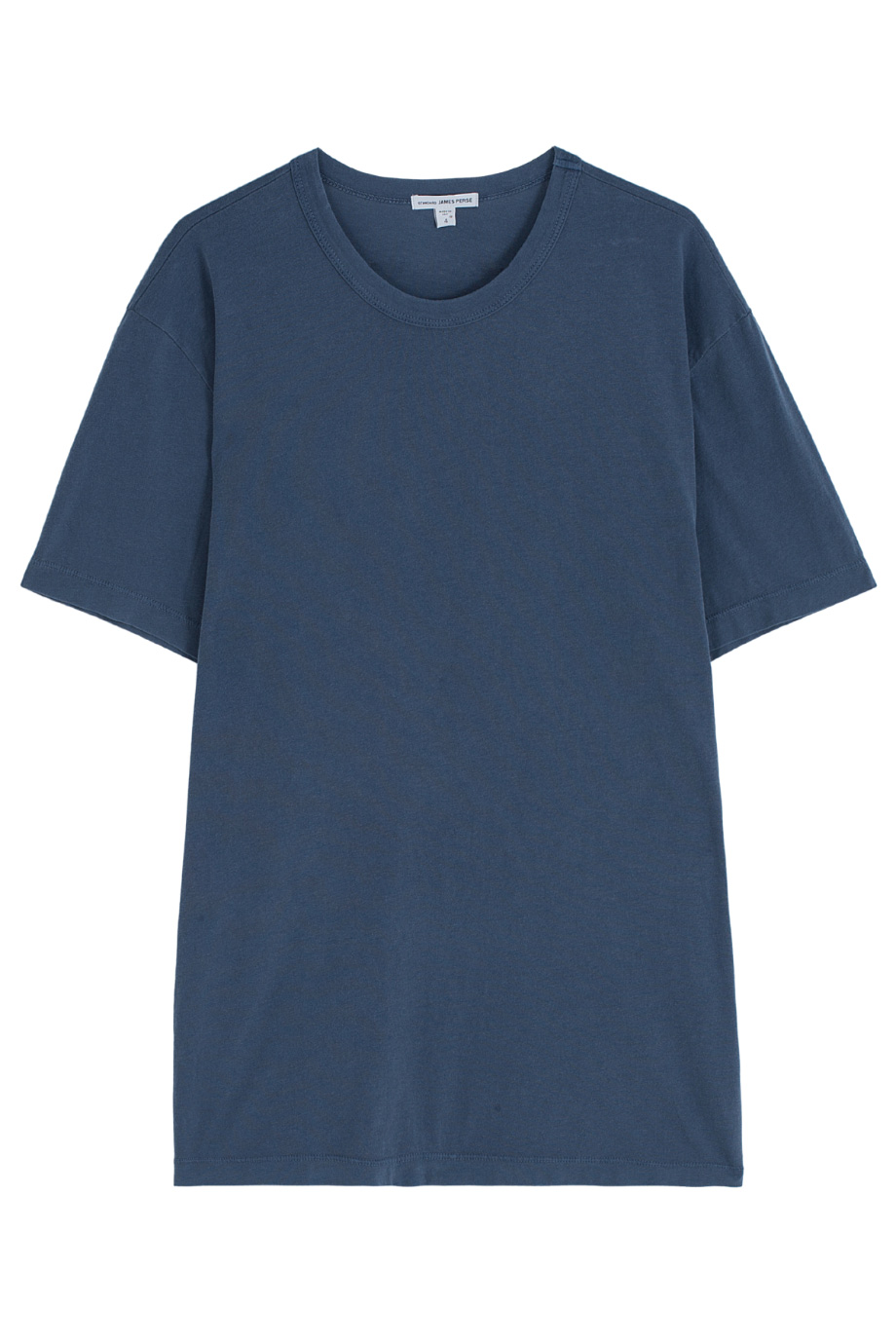 James perse round neck t shirt in blue for men lyst for James perse t shirts sale