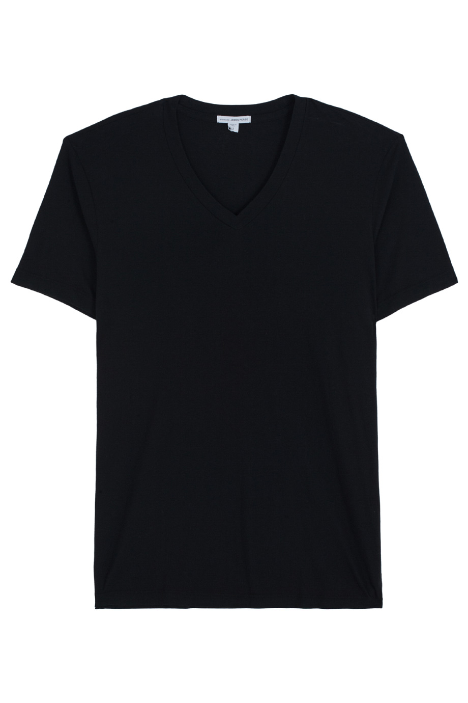 James perse V Neck T- Shirt in Black for Men | Lyst