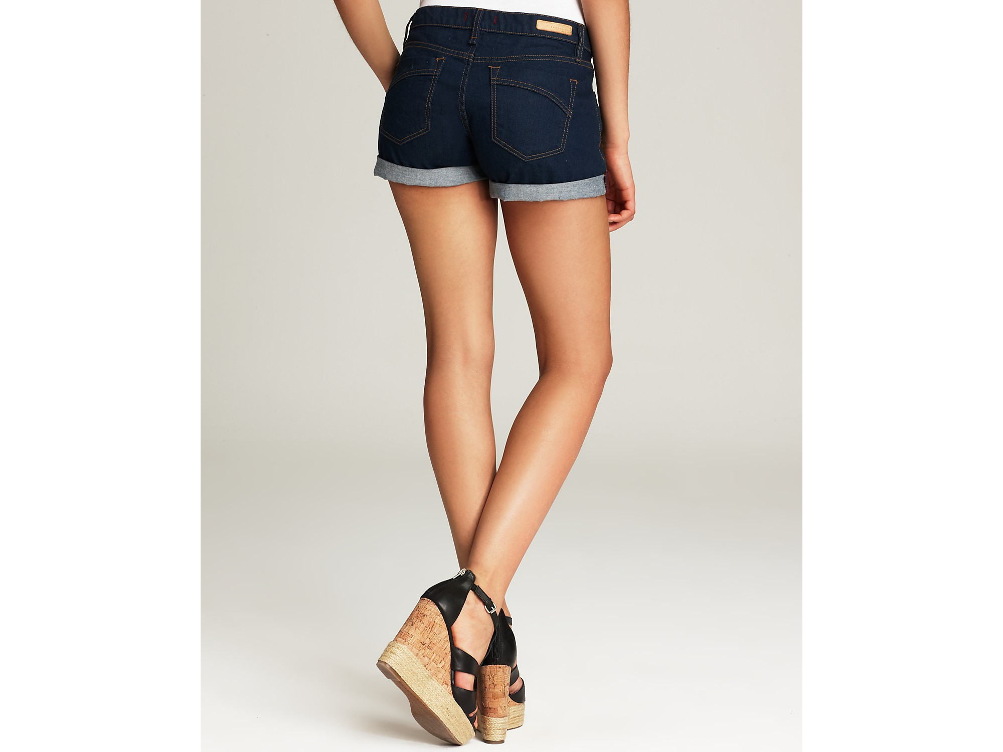 Ash Quotation Sanctuary Jean Shorts The Perfect Fit Shorts in ...