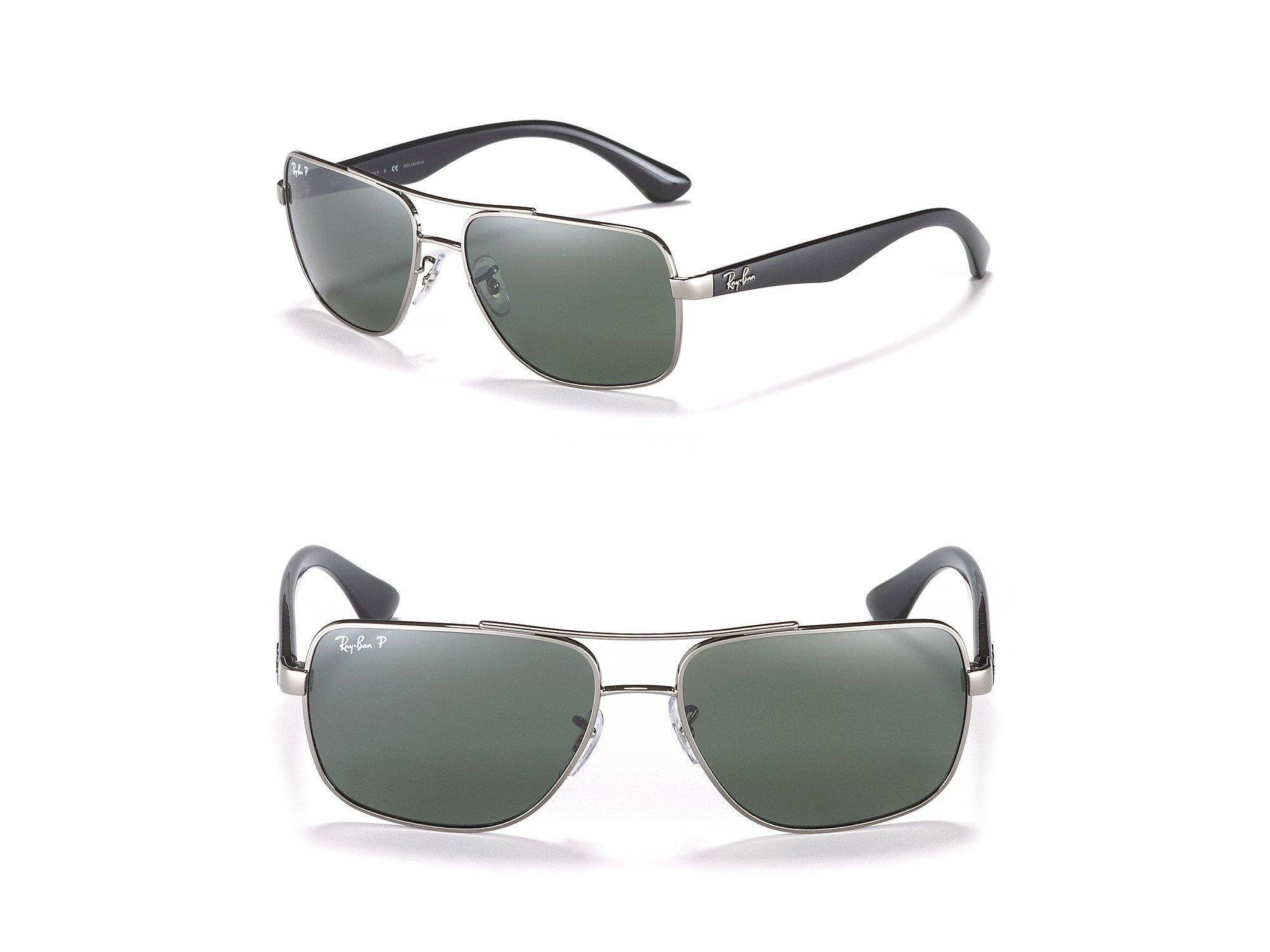 Lyst Ray Ban Polarized Navigator Sunglasses In Green For Men