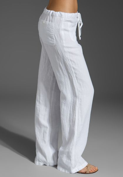 Simple Get A Casual Edge With This Full Length Cotton Gauze Pant Classy Details Include Flattering Wideleg Styling With A Beautiful Drape And A Deep Hem With A Tiny Slit Soft Surroundings Offers Stylish, Luxurious &amp Comfortable Womens Clothes For
