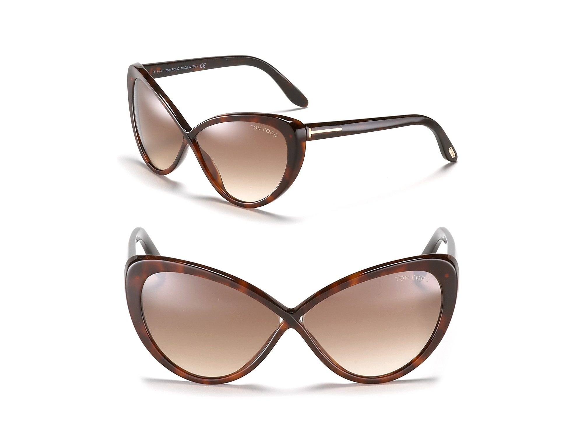 6a06edf44dce Gallery. Previously sold at  Bloomingdale s · Women s Cat Eye Sunglasses  Women s Tom Ford ...