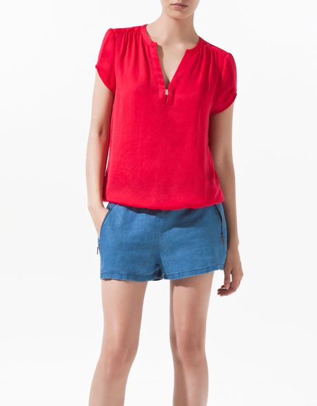 Zara Womens Blouse 22