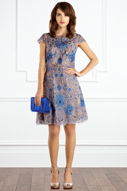 Lyst - Coast Lou Lou Dress in Blue