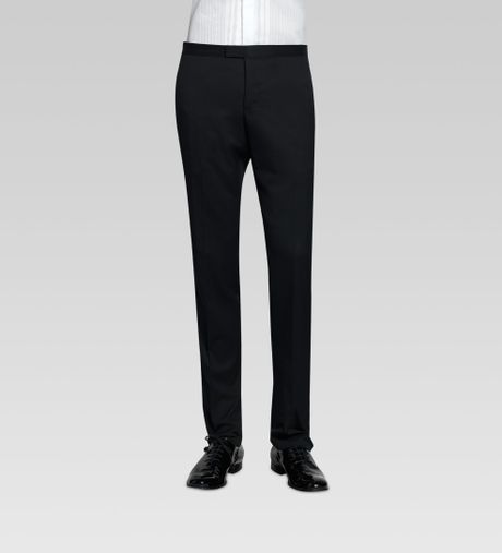 Gucci Formal Pant In Black For Men | Lyst