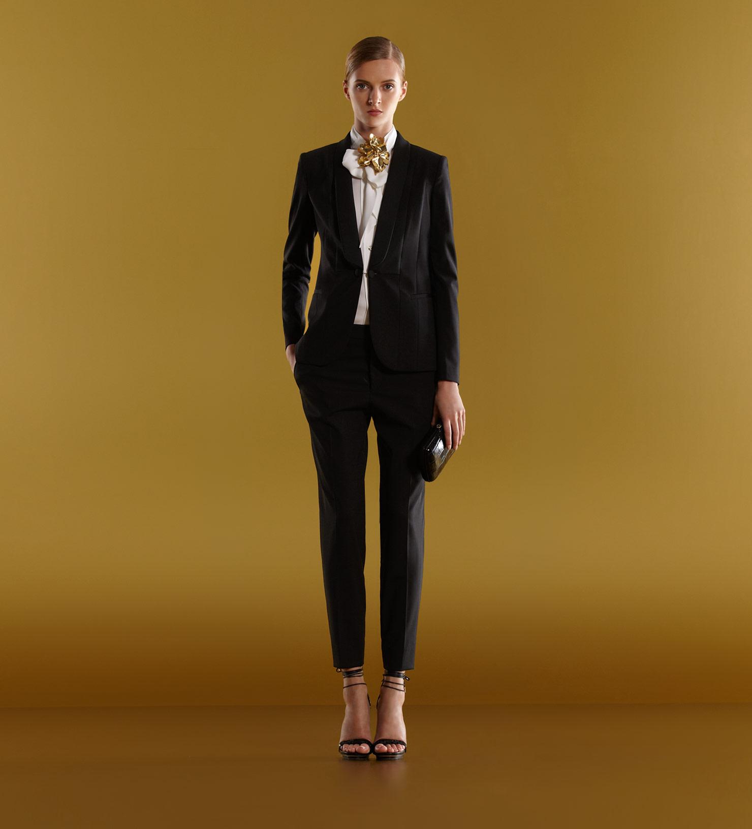 Lyst Gucci Tuxedo Jacket In Black