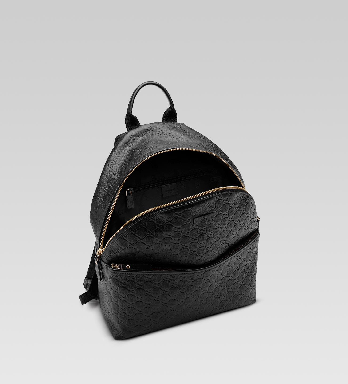 Gucci Zip Backpack in Black for Men - Lyst 5ff12433ce181