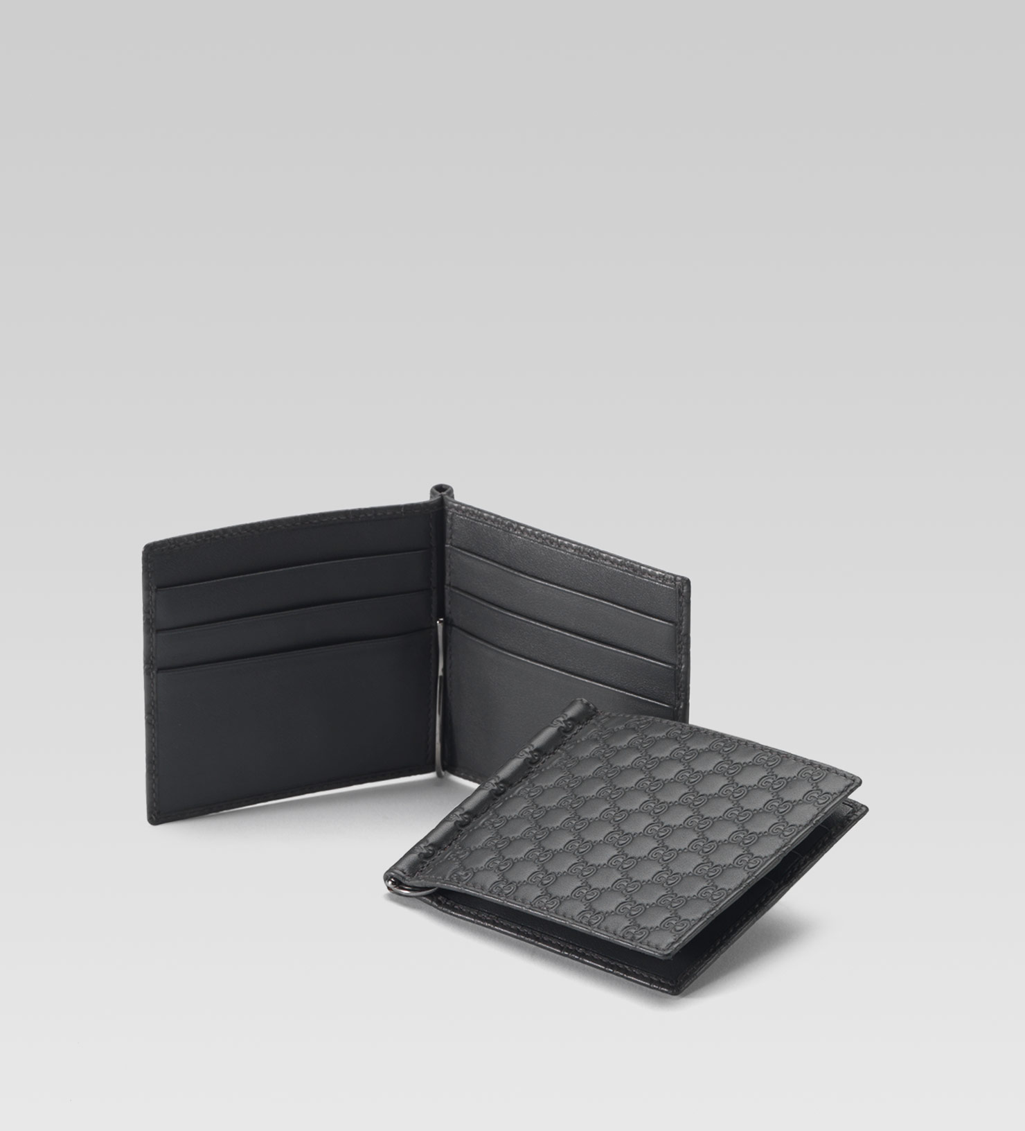2a3c0b0b21fffd Gucci Bifold Wallet With Money Clip - Image Of Wallet