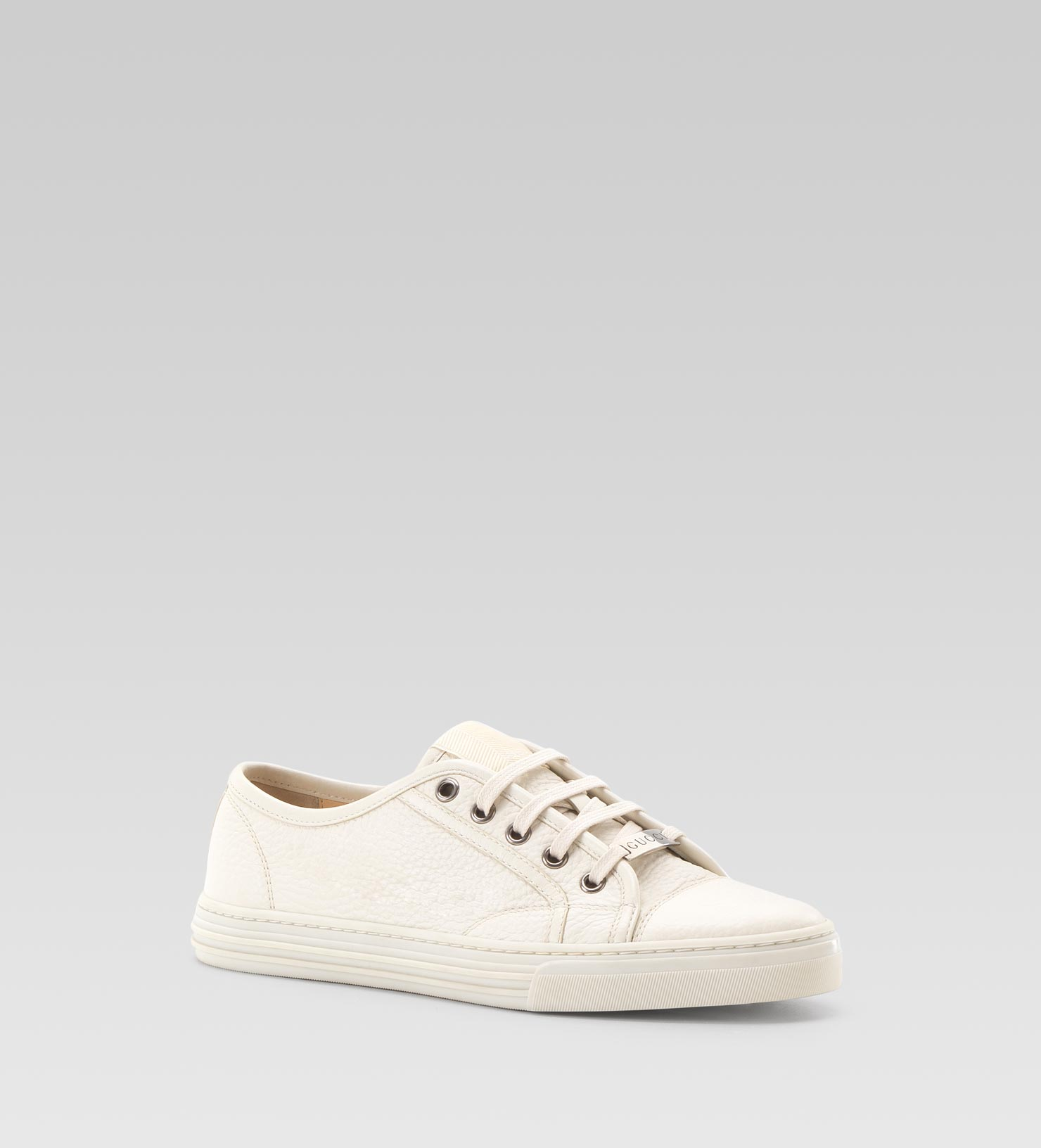 3502831133a Lyst - Gucci California Low Laceup Sneaker in White for Men