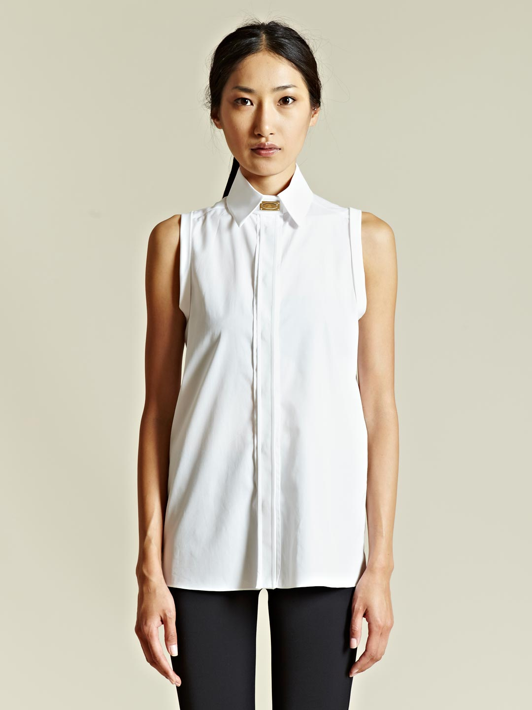 Givenchy Givenchy Womens Sleeveless Shirt In White Lyst