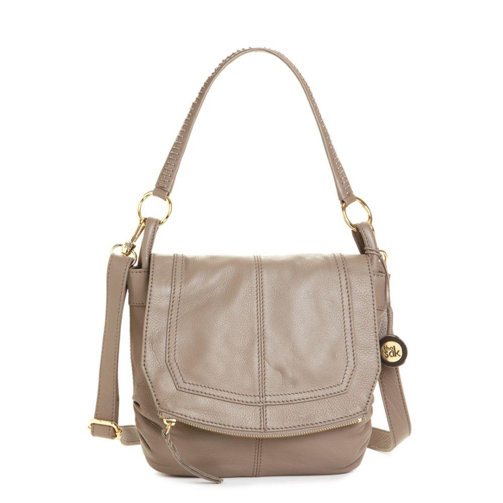 The Sak Handbag Silverlake Small Flap Shoulder Bag 55
