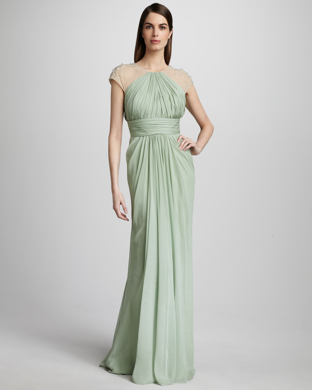 Unique Badgley Mischka Pastel Petunia Gown Image - Images for ...