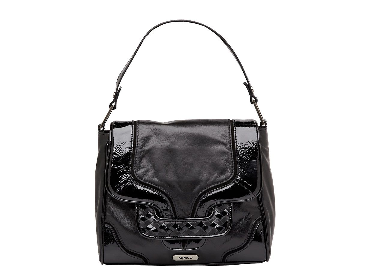 Lyst Mimco Reflection Day Bag In Black