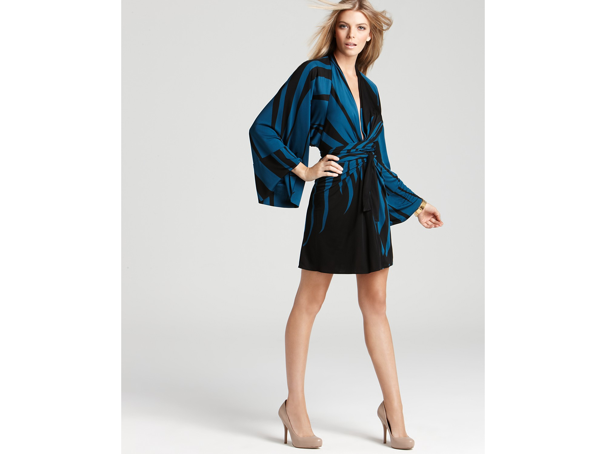 Kimono Jersey Dress