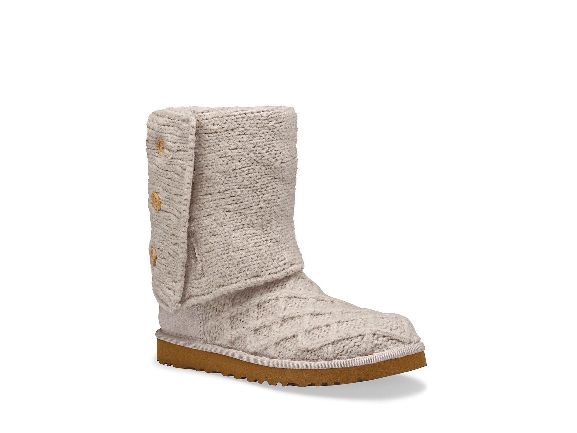 Lyst Ugg Lattice Cardy Boots In Natural