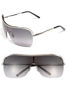 Jimmy Choo Metal Shield Sunglasses - Lyst