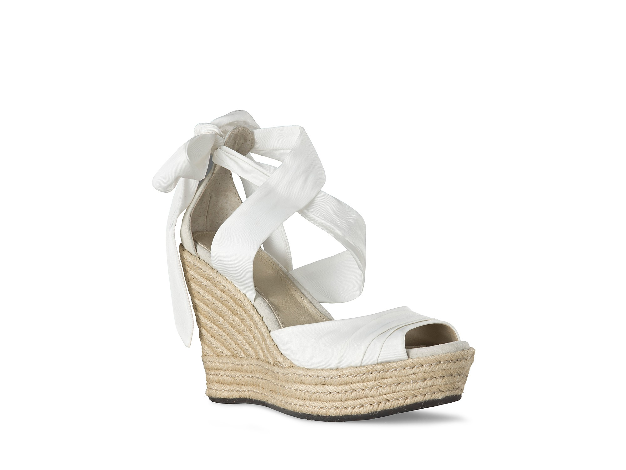 7b0e27c67d3 Lyst - UGG Sandals Lucianna Wrap in White