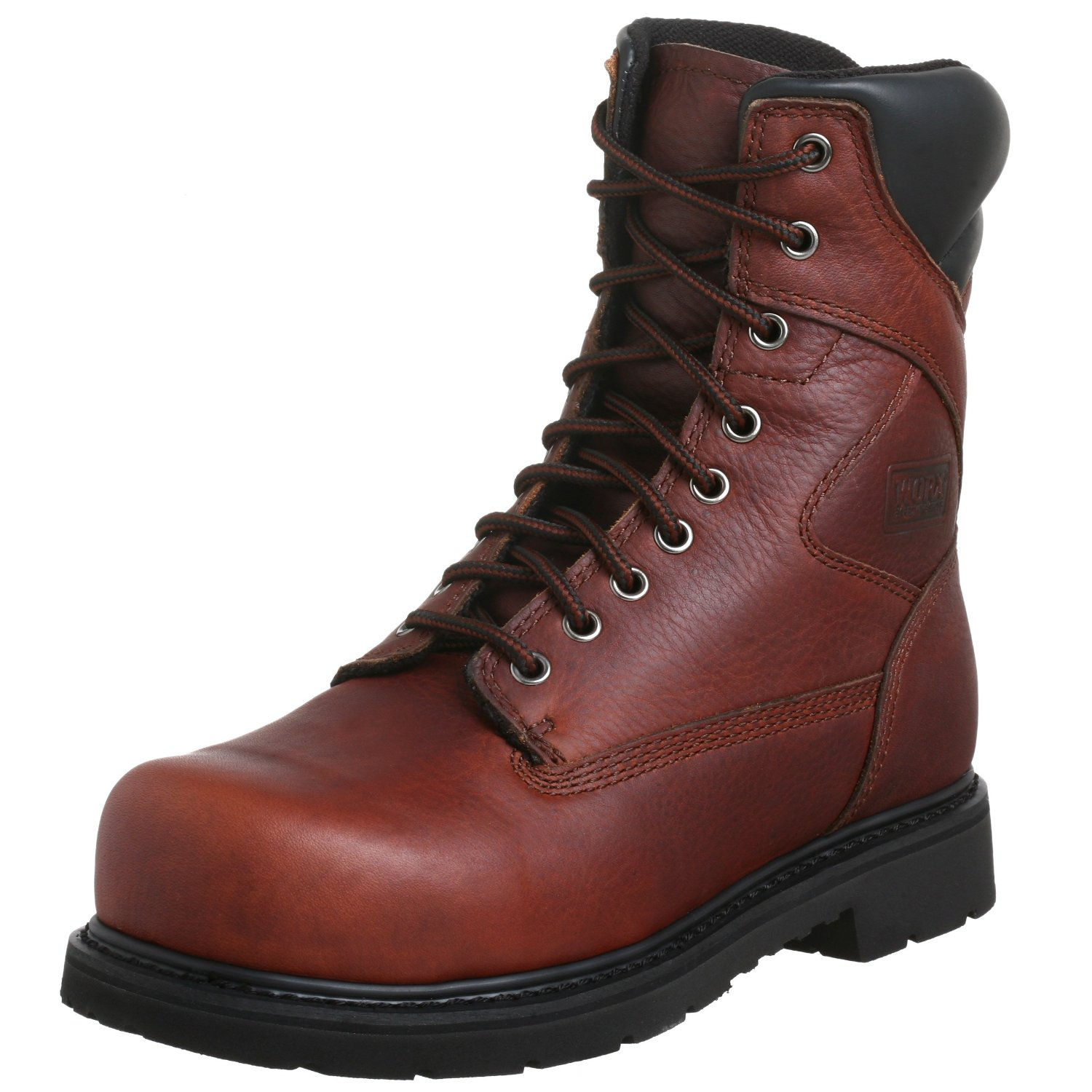 Red Wing Worx By Shoes Mens 8 Oblique Steel Toe