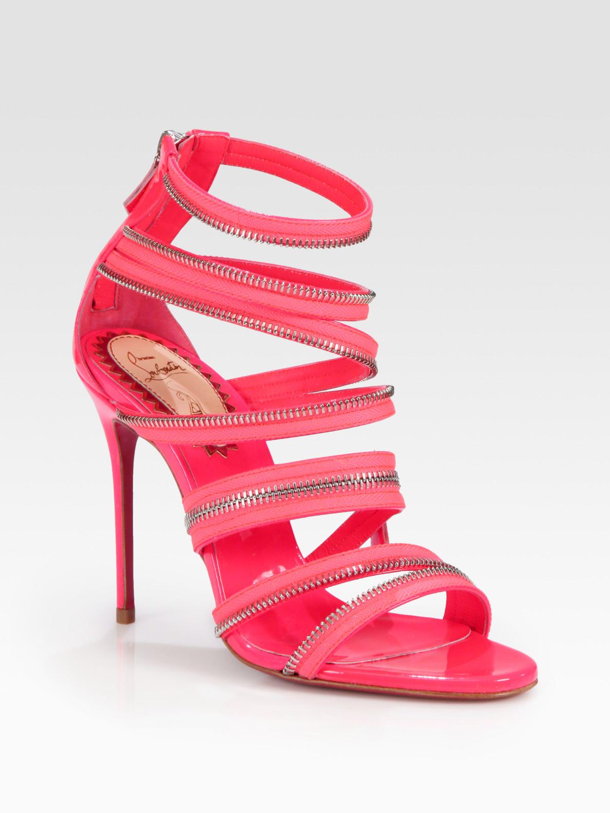 Artesur ? christian louboutin sandals Pink patent leather