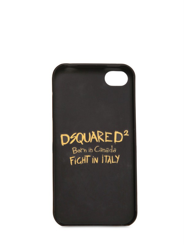 Dsquared² Polycarbonate Iphone 4 Case in White for Men | Lyst