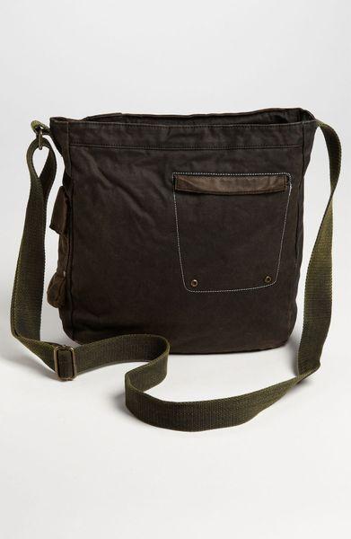 bed stu trapper john messenger bag in brown for men oil lyst. Black Bedroom Furniture Sets. Home Design Ideas