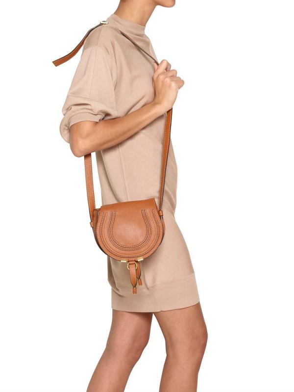 Marcie Small leather shoulder bag Chlo GuBsMr2Gs