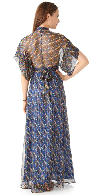Issa kimono maxi dress