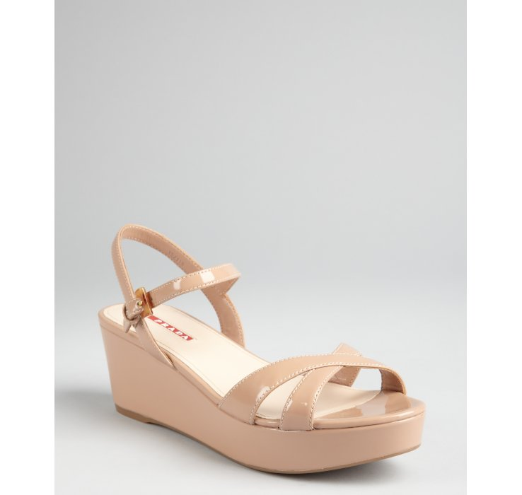 Prada Sport Suede Slingback Wedges buy cheap sast for sale cheap price from china buy cheap perfect clearance supply discount new styles oqEjB