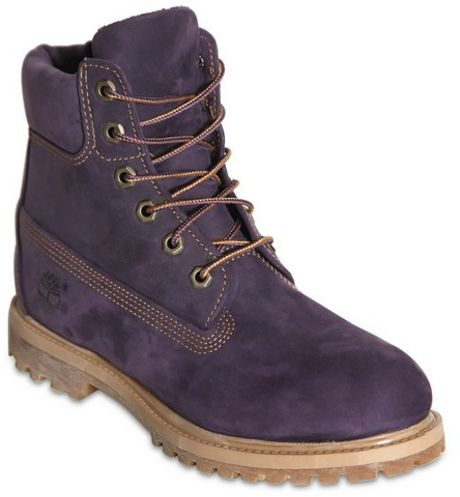 Brilliant Timberland Women39s Nellie Lace Up Utility Boots In Purple Magenta