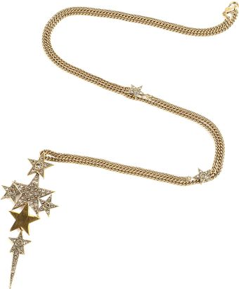 Star Pendant Necklace on Brass Star Pendant Necklace