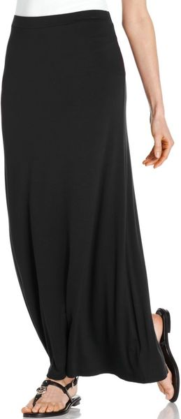 Michael Kors Solid Knit Maxi in Black - Lyst