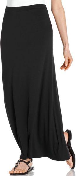 Michael Kors Solid Knit Maxi in Black