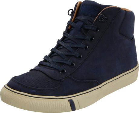 pro keds prokeds mens phantom mid casual shoe in blue for