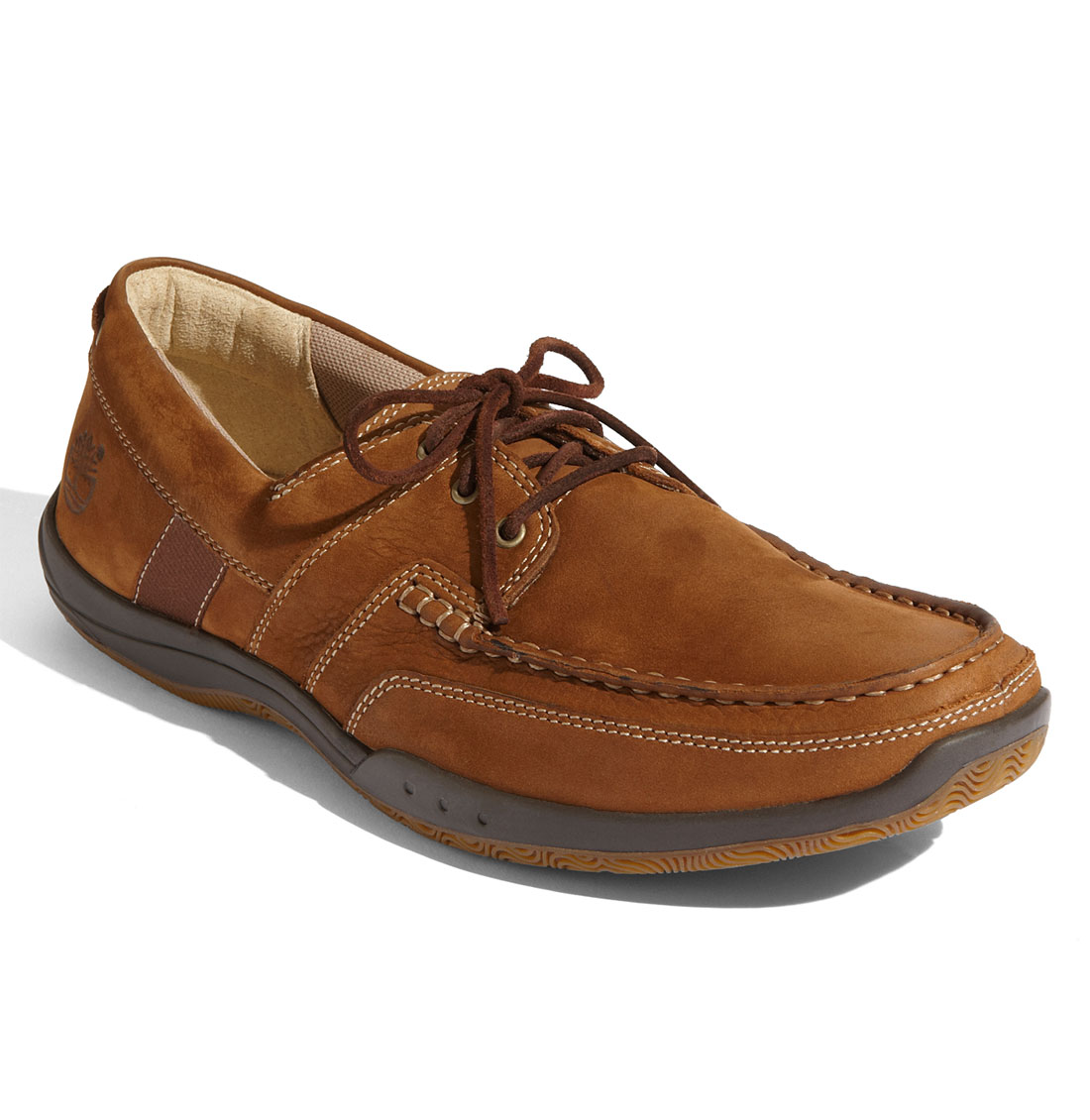 timberland earthkeepers cupsole boat shoe in brown for