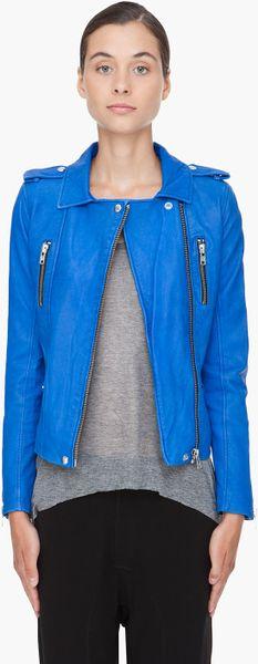 Iro Anabela Jacket in Blue - Lyst
