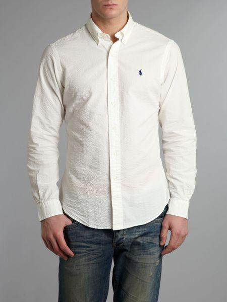 Mens Seersucker Shirts