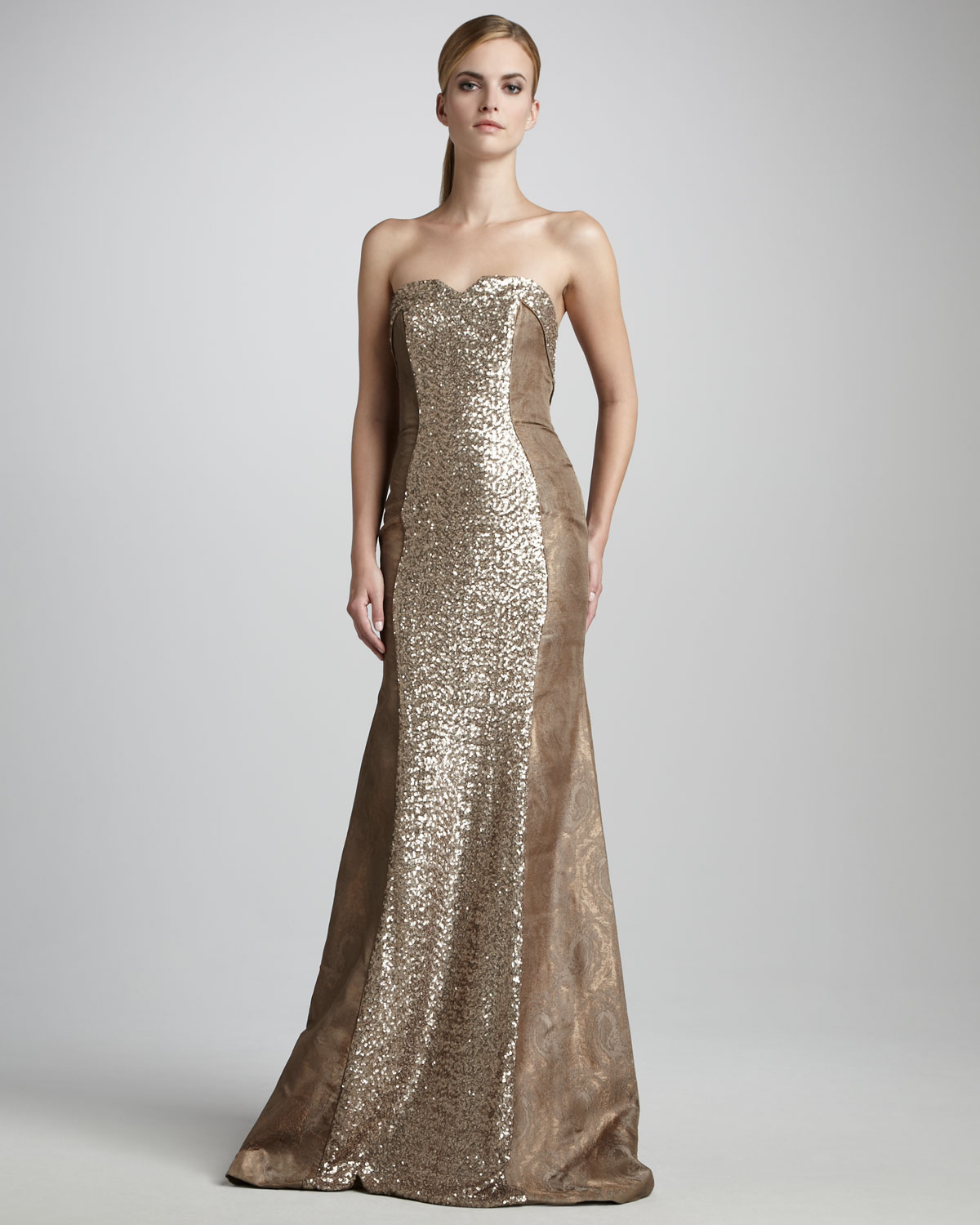 Beautiful Theia Golden Blossom Gown Collection - Images for wedding ...