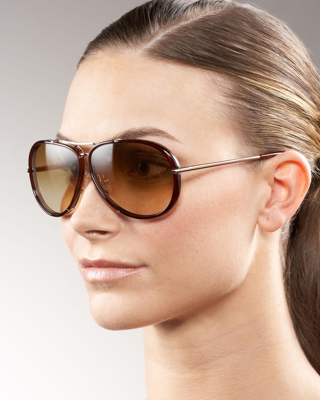 7331931b38b5 Tom Ford Cyrille Aviator Sunglasses Amazon