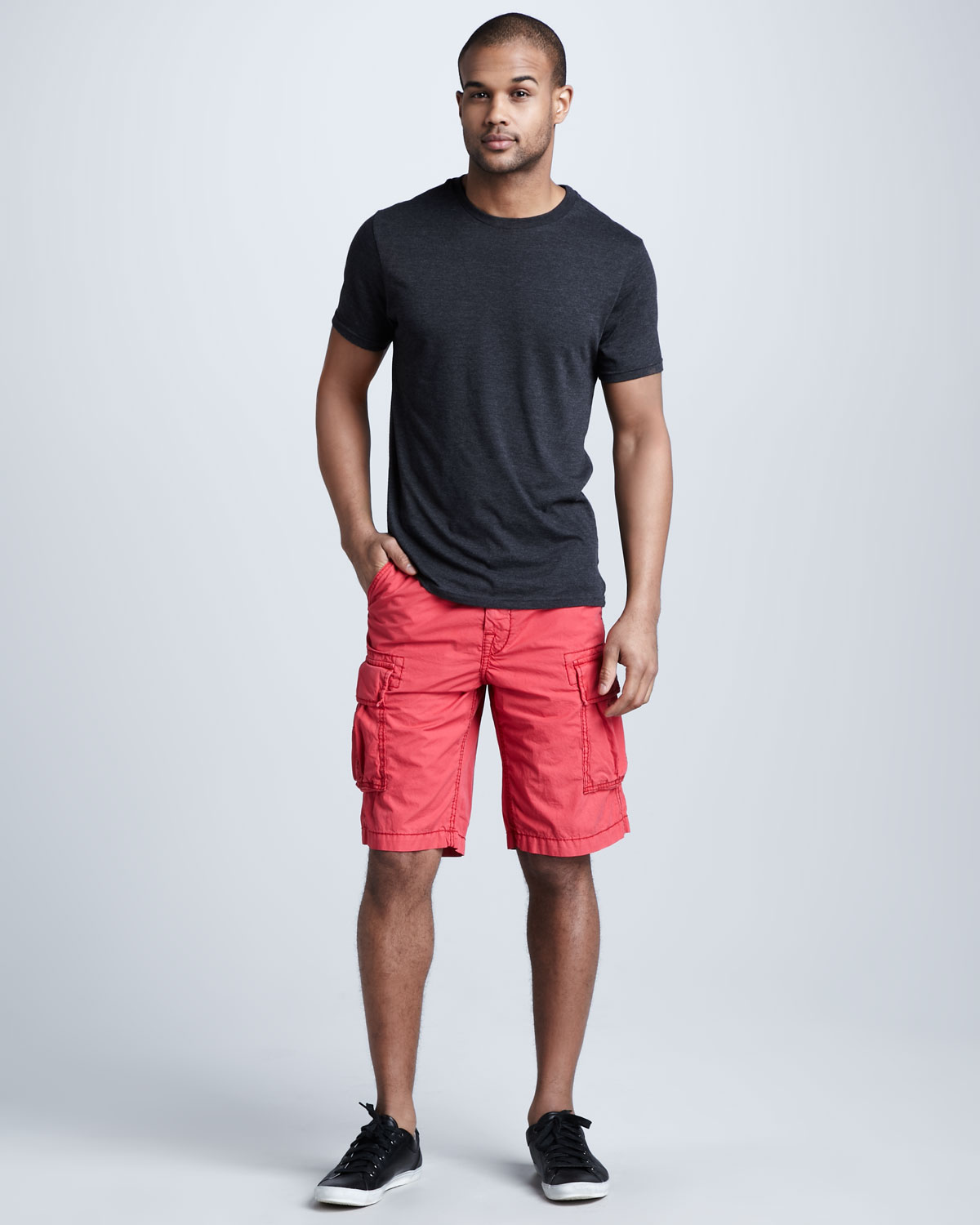 Mens Red Shorts - The Else
