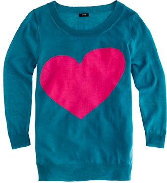 J.Crew Tippi Sweater in Heart Me - Lyst